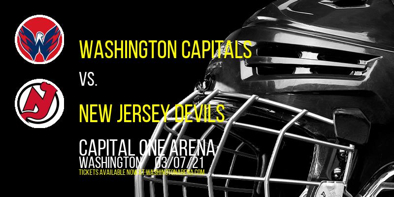 Washington Capitals vs. New Jersey Devils at Capital One Arena