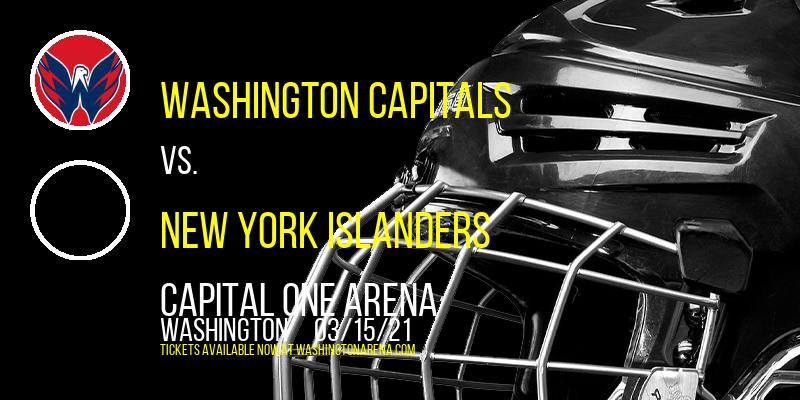 Washington Capitals vs. New York Islanders at Capital One Arena