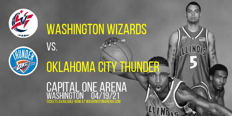 Washington Wizards vs. Oklahoma City Thunder [CANCELLED] at Capital One Arena