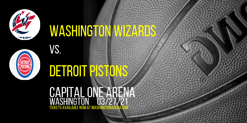Washington Wizards vs. Detroit Pistons [CANCELLED] at Capital One Arena