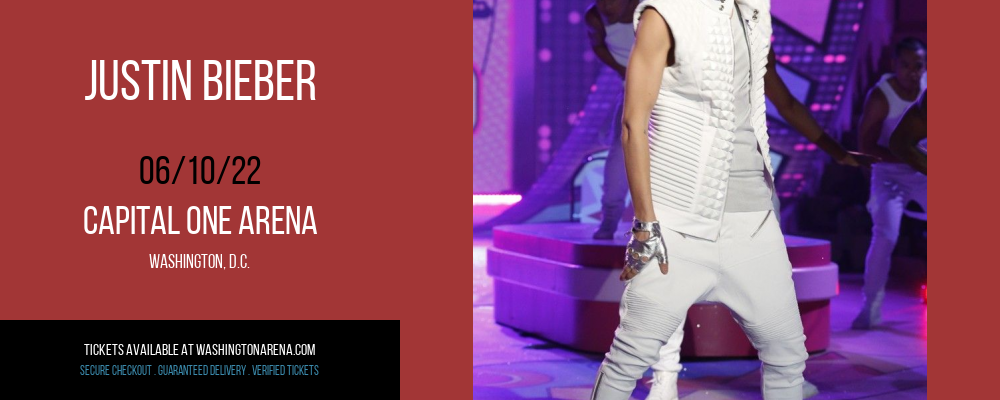 Justin Bieber at Capital One Arena