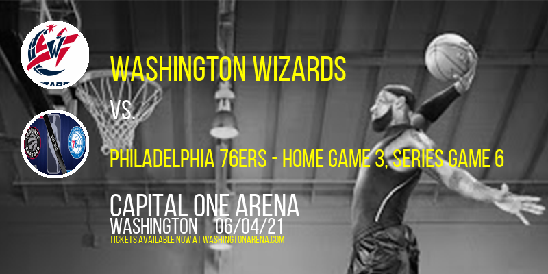 NBA Eastern Conference First Round: Washington Wizards vs. TBD - Home Game 3 (Date: TBD - If Necessary) [CANCELLED] at Capital One Arena