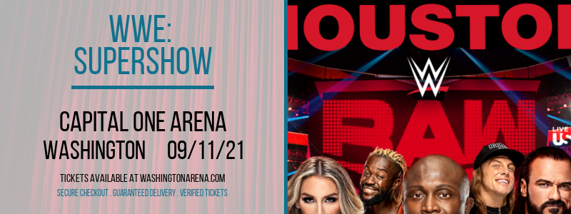 WWE: Supershow at Capital One Arena