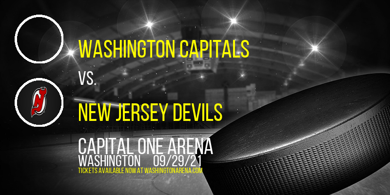 NHL Preseason: Washington Capitals vs. New Jersey Devils at Capital One Arena