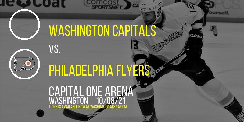 NHL Preseason: Washington Capitals vs. Philadelphia Flyers at Capital One Arena