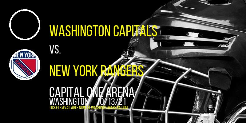 Washington Capitals vs. New York Rangers at Capital One Arena