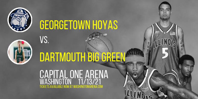Georgetown Hoyas vs. Dartmouth Big Green at Capital One Arena