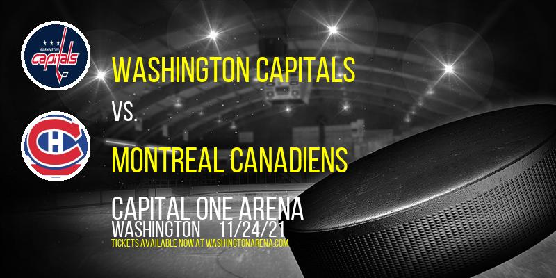 Washington Capitals vs. Montreal Canadiens at Capital One Arena