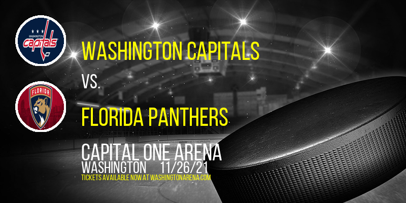 Washington Capitals vs. Florida Panthers at Capital One Arena