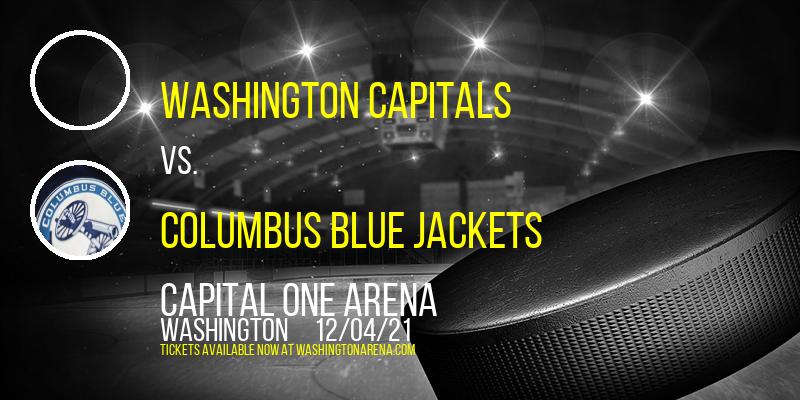 Washington Capitals vs. Columbus Blue Jackets at Capital One Arena