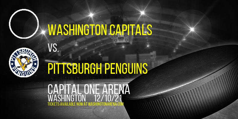 Washington Capitals vs. Pittsburgh Penguins at Capital One Arena