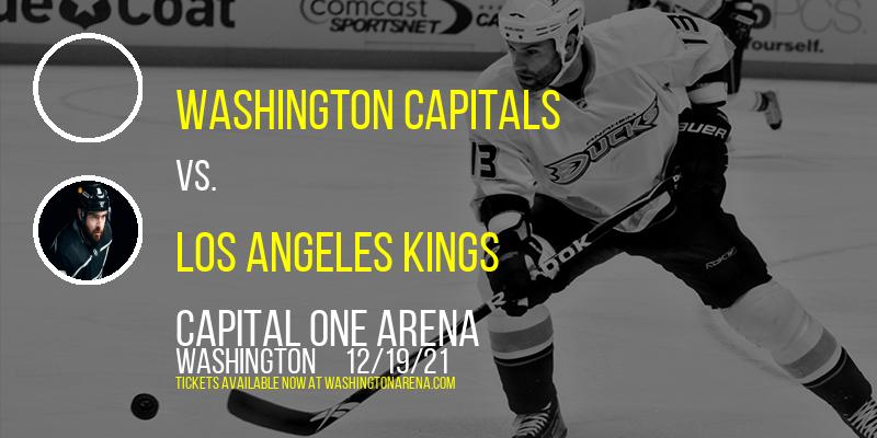 Washington Capitals vs. Los Angeles Kings at Capital One Arena