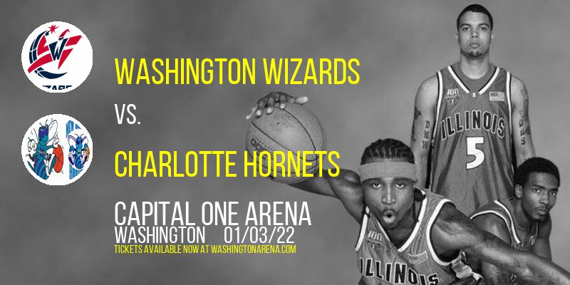 Washington Wizards vs. Charlotte Hornets at Capital One Arena