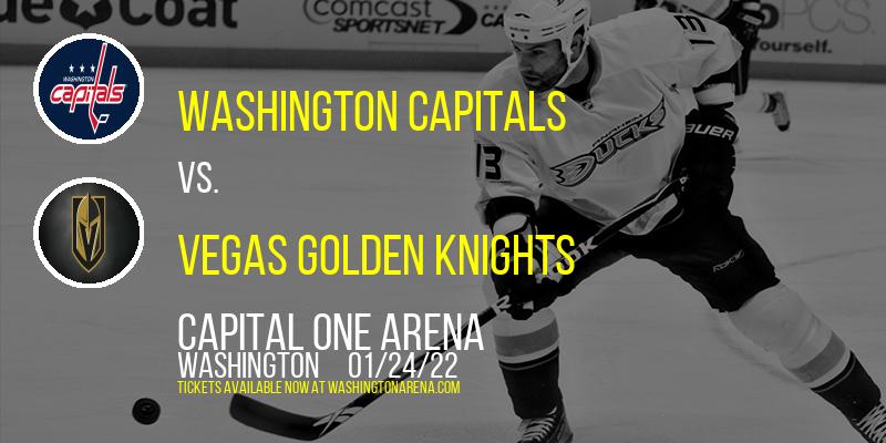 Washington Capitals vs. Vegas Golden Knights at Capital One Arena
