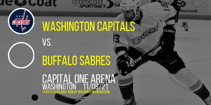 Washington Capitals vs. Buffalo Sabres at Capital One Arena