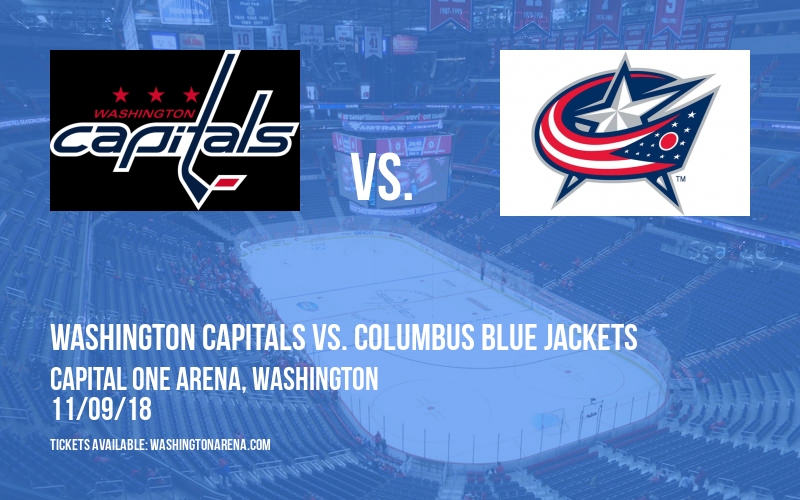 Washington Capitals vs. Columbus Blue Jackets at Capital One Arena