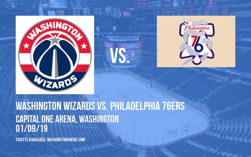 Washington Wizards vs. Philadelphia 76ers at Capital One Arena