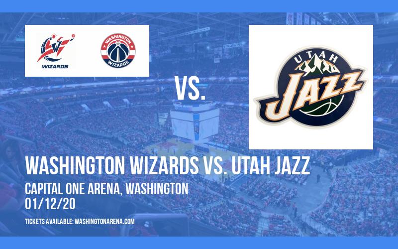 Washington Wizards vs. Utah Jazz at Capital One Arena
