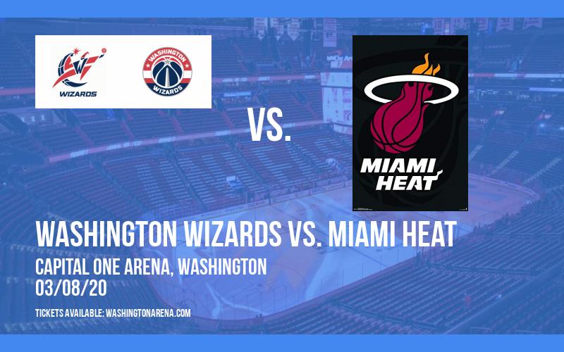Washington Wizards vs. Miami Heat at Capital One Arena
