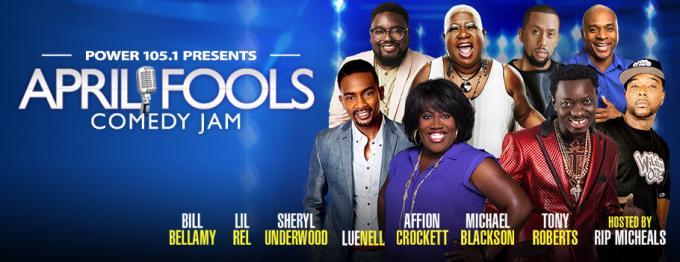 April Fools Comedy Jam: Brandon T. Jackson, Lil Duval, Monique & Arnez J at Capital One Arena