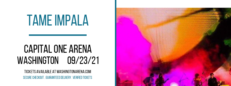 Tame Impala at Capital One Arena